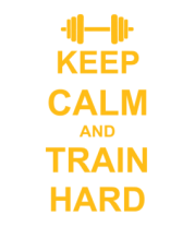 Кружка Keep calm and train hard