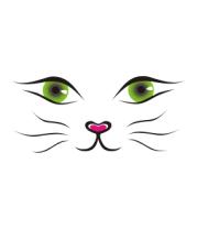 Женская футболка с длинным рукавом Я кошка