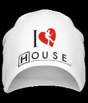 Шапка I Love House