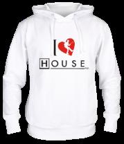 Толстовка I Love House