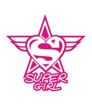 Женская майка борцовка Super Girl