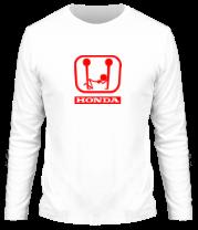 Мужская футболка с длинным рукавом Honda (эро)
