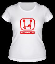Женская футболка  Honda (эро)