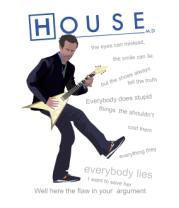 Мужская футболка  House