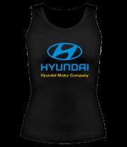 Женская майка борцовка Hyundai