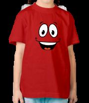 Детская футболка  Радостный смайлик