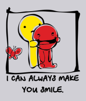 Толстовка I can Always Make You Smile
