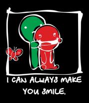 Мужская футболка  I can Always Make You Smile
