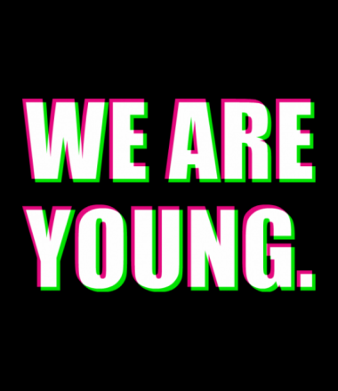 Женская майка борцовка We are young