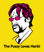 Женская футболка  Californication. The Pussy Loves Hank
