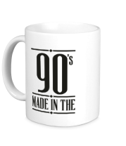 Кружка Made in the 90s