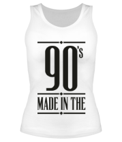 Женская майка борцовка Made in the 90s