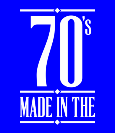 Детская футболка  Made in the 70s