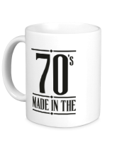 Кружка Made in the 70s