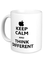 Кружка Keep calm and think different