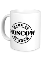 Кружка Made in Moscow
