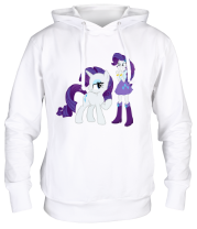 Толстовка Rarity and Rarity