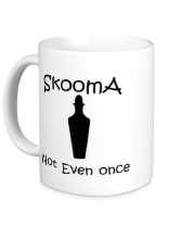 Кружка Skooma, not even once