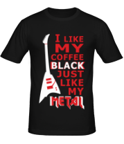 Мужская футболка Mindless Self Indulgence - Coffee black