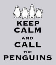 Толстовка Keep calm and call the penguins of madagascar