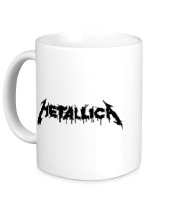 Кружка Metallica painted logo