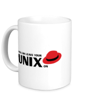 Кружка You can leave your Unix on