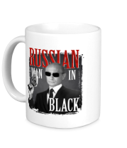 Кружка Russian man in black
