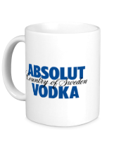 Кружка Absolut Vodka