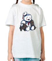 Детская футболка Ghostbusters Stay Puft