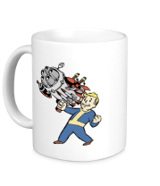 Кружка Vault boy with a Big Gun
