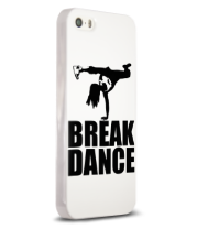 Чехол для iPhone Break dance girl