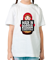 Детская футболка  Made in Russia