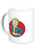 Кружка Vault Boy Color