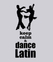 Толстовка Keep calm & dance latin
