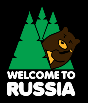 Толстовка без капюшона Welcome to Russia