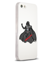 Чехол для iPhone Darth Vader red laser pedang