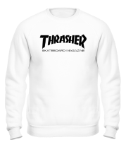 Толстовка без капюшона Thrasher Scateboard Magazine
