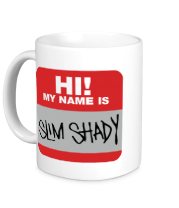 Кружка My name is Slim Shady